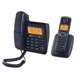 Motorola 2 Handset Cordless/Corded Phone - Black - L702CM