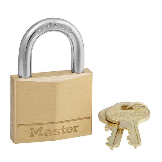 Master Padlock - 40mm Solid Brass