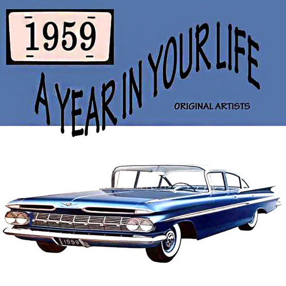 Various Artists - 1959: A Year in Your Life - 2CD