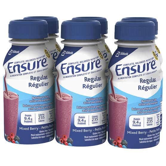 Ensure - Mixed Berry - 6 x 235ml