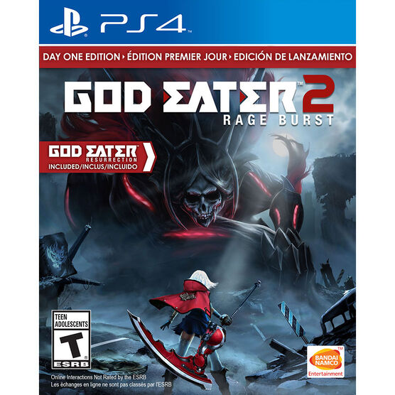 PS4 God Eater 2: Rage Burst Day One Edition