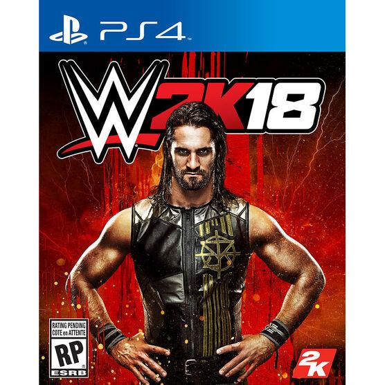 PS4 WWE 2K18 Deluxe