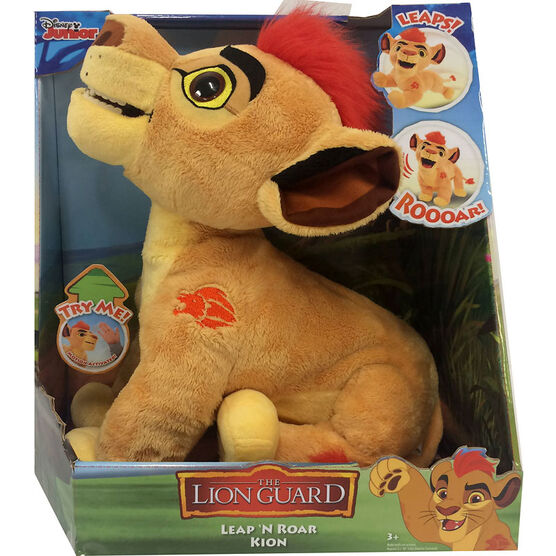 Lion Guard Talking Plush - Assorted