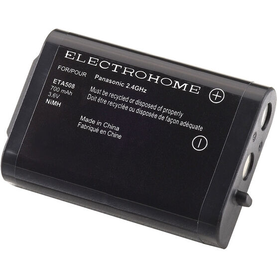 Electrohome Cordless Phone Battery - ETA508
