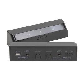 Indigo Bluetooth 2-in-1 Transmitter and Receiver - Black - BTRT1