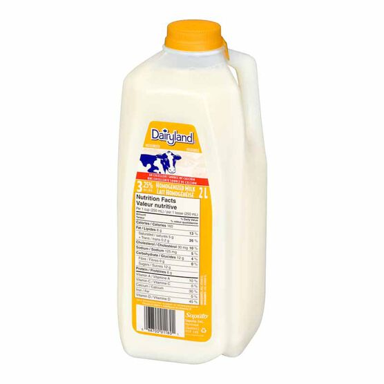Dairyland 3.25% Homogenized Milk-2L