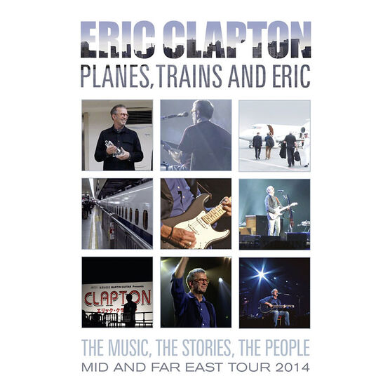 Eric Clapton - Planes, Trains and Eric - DVD