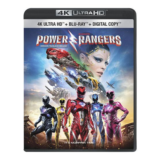Saban's Power Rangers - 4K UHD Blu-ray
