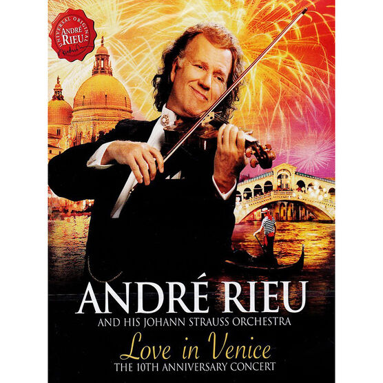 André Rieu - Love In Venice - DVD