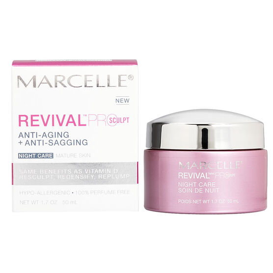 Marcelle Revival Pro-Sculpt Night Care - 50ml