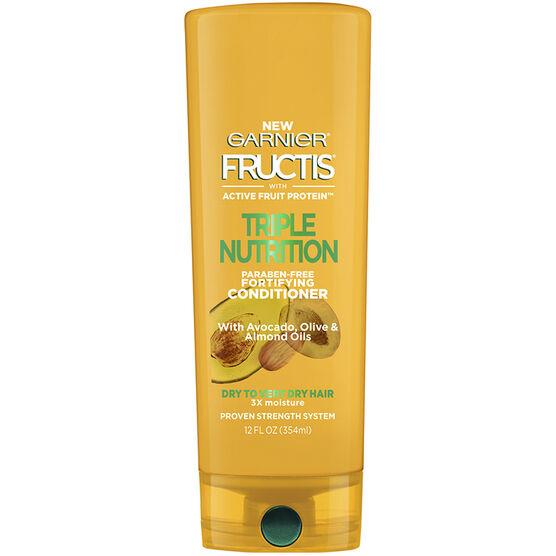 Garnier Fructis Triple Nutrition Conditioner - 354ml