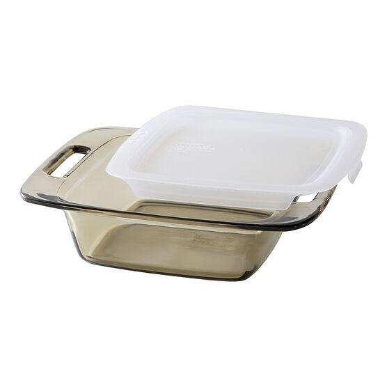 Pyrex Easygrab Square Baking Dish - Amber - 8in