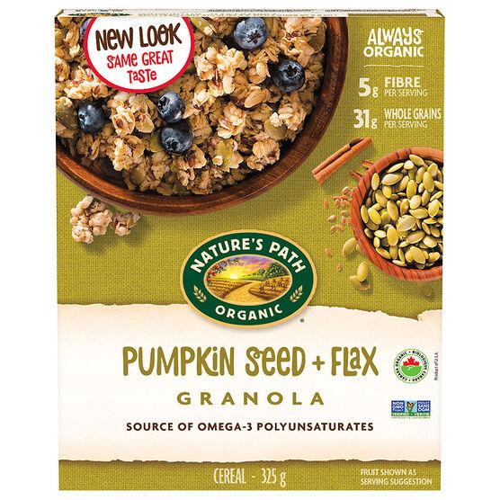 Nature's Path Organic Pumpkin Flax Plus Granola - 325g