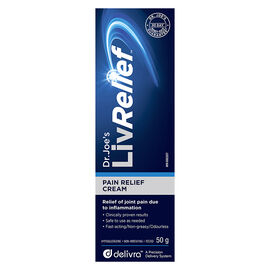 LivRelief Pain Relief Cream - 50g