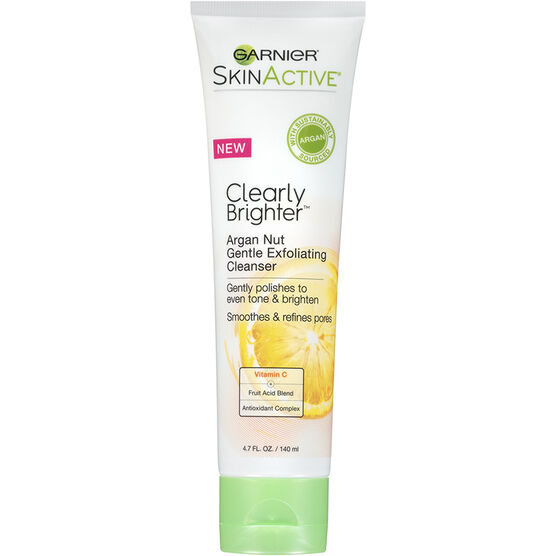 Garnier SkinActive Clearly Brighter Gentle Exfoliating Cleanser - 140ml