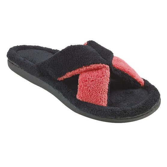 Isotoner 2 Tone Slide-On Slipper - 91001