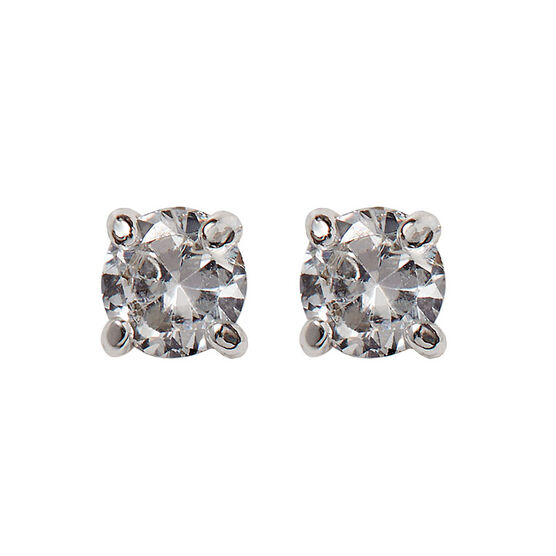 Nine West Round Button Stud Earrings