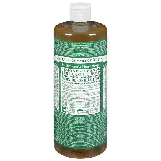 Dr. Bronner's 18-IN-1 Pure-Castile Liquid Soap - Almond - 944ml