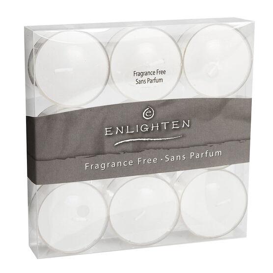 Enlighten Tealights - Unscented - 9 pack