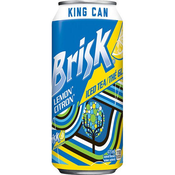 Lipton Brisk Iced Tea - Lemon - 473 ml