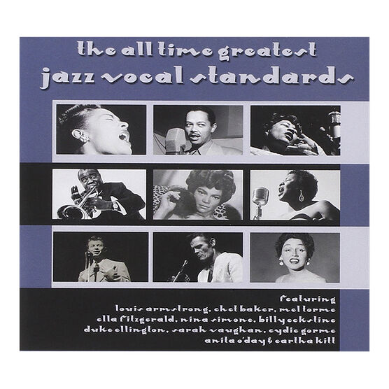 Various Artists - The All Time Greatest Jazz Vocal Standards - 3 CD