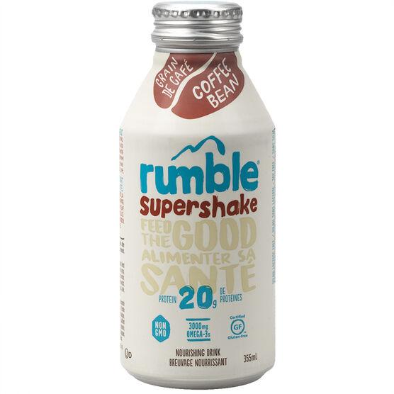 Rumble Super Shake - Coffee Bean - 355ml
