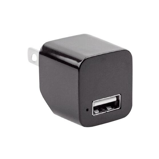 Logiix Powercube Mini AC USB - Black - LGX12471