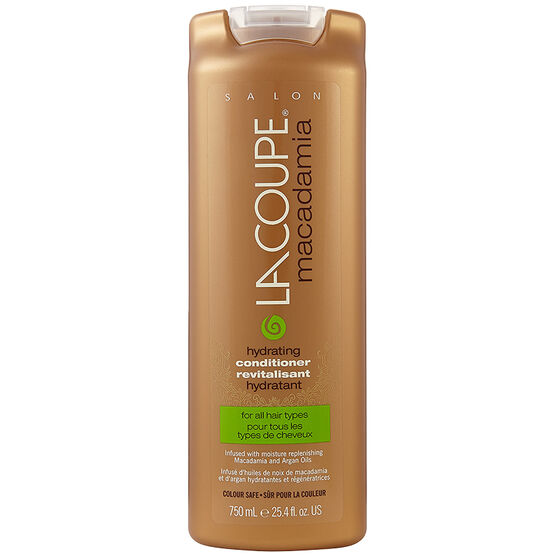 LaCoupe Macadamia Conditioner - Hydrating - 750ml