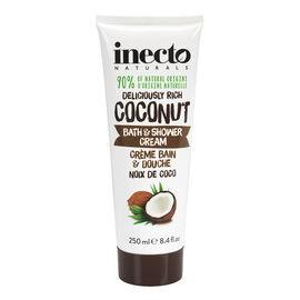 Inecto Naturals Deliciously Rich Coconut Bath & Shower Cream - 250ml