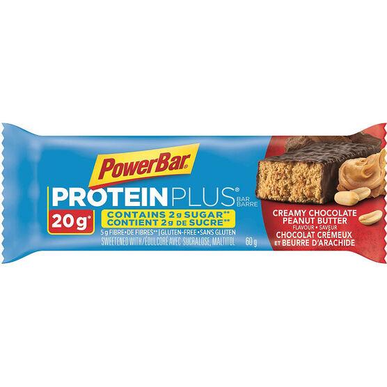 PowerBar Protein Plus Bar - Creamy Chocolate Peanut Butter - 60g