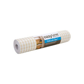 Shurtech Smooth Top Easy Liner - Sandstone Gingham - 20 inches x 6 feet