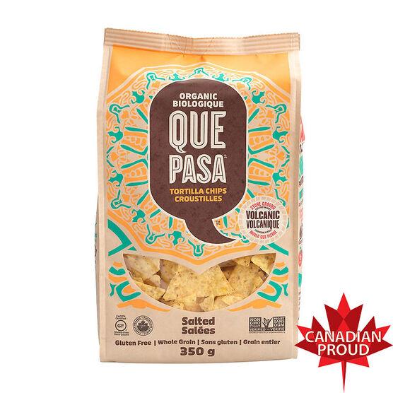 Que Pasa Tortilla Chips - Salted - 350g
