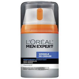 L'Oreal Men Expert Wrinkle De-Crease Moisturizer - 50ml