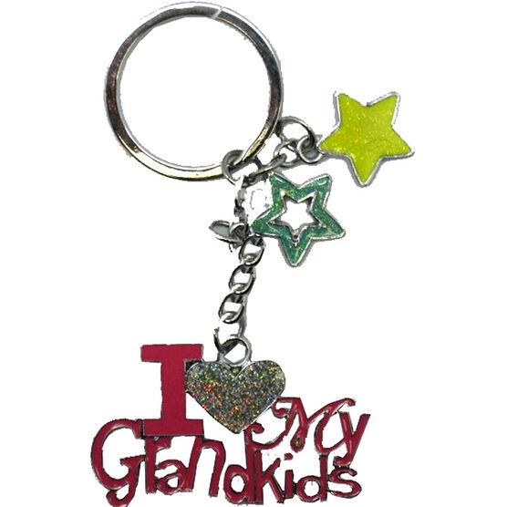 Valentine's I Love My Grandkids Key Tag