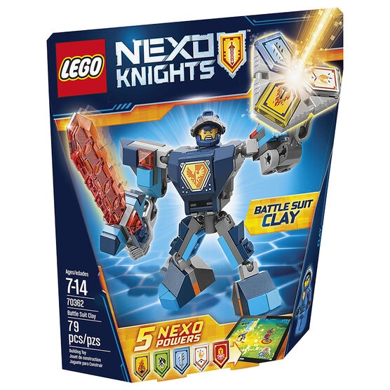 Lego Nexo Knights Battle Suite Clay - 70362