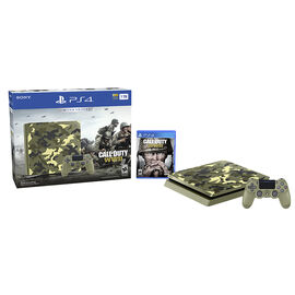 PRE ORDER: Sony PlayStation PS4 1TB Hardware Bundle - Call of Duty WW2 Limited Edition - CUH2115B