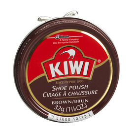 Kiwi Shoe Polish - Brown - 32g