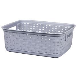 Sterilite Short Weave Basket - Cement
