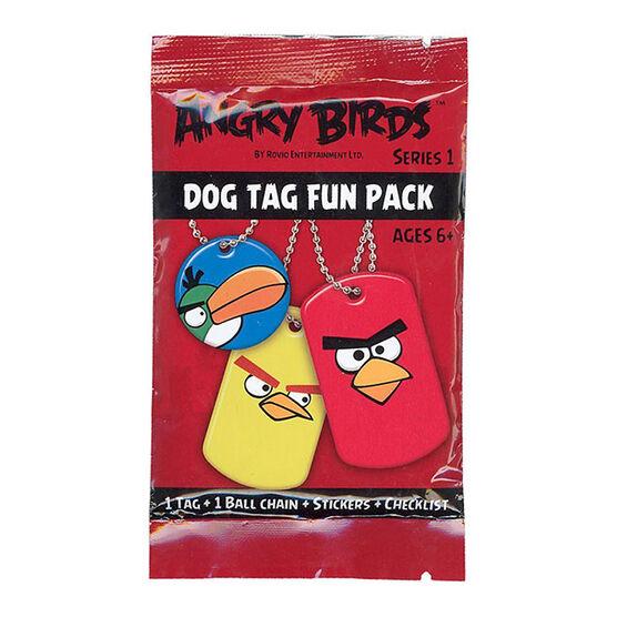 Angry Birds Dog Tags