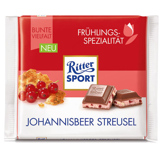 Ritter Sport - Red Currant Crumble - 100g