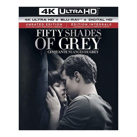Fifty Shades of Grey - 4K UHD Blu-ray