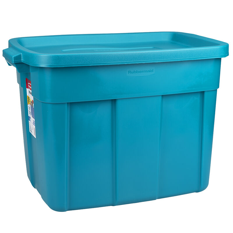 rubbermaid roughneck storage box assorted 681l