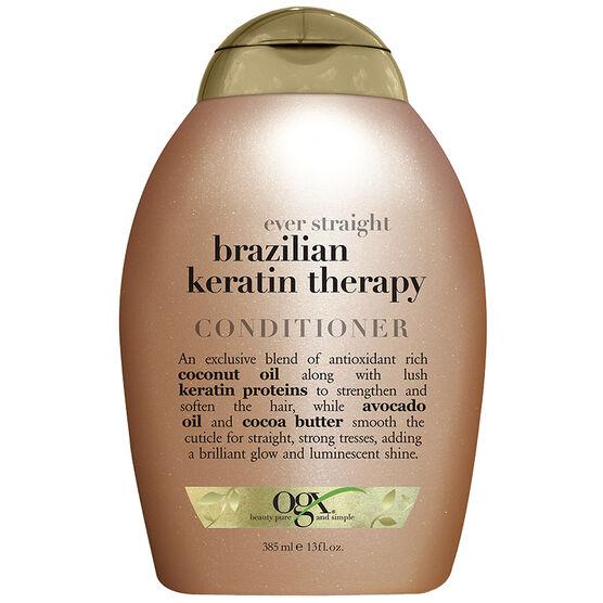 OGX Ever Straight Brazilian Keratin Therapy Conditioner - 385ml