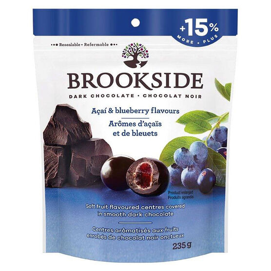 Brookside Dark Chocolate - Acai & Blueberry - 235g