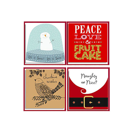 American Greetings Christmas Cards - Boutique Set - 8 count - Assorted