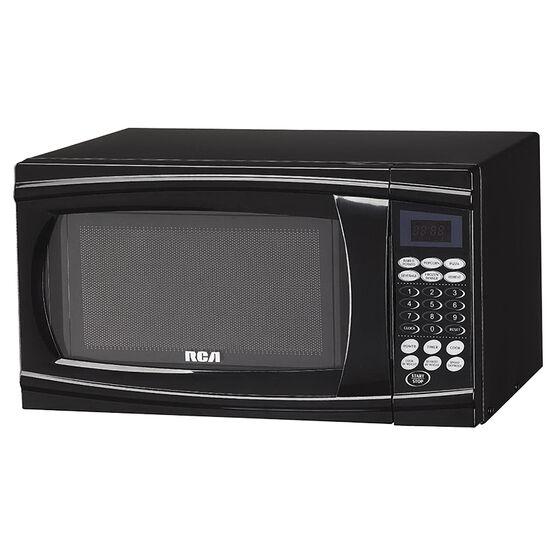 RCA 0.7 cu.ft. Microwave - Black - RMW712BLACK