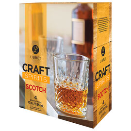 Libbey Craft Spirits Scotch - Set of 4