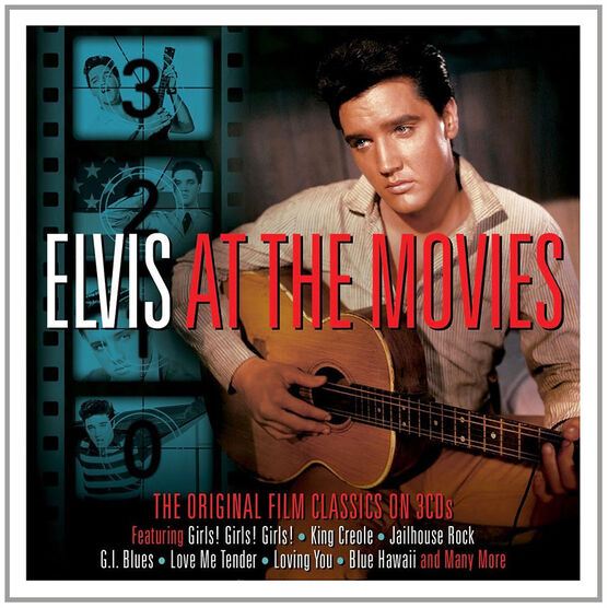Elvis Presley - Elvis At The Movies - 3 CD