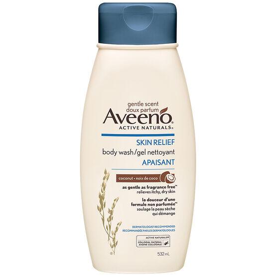 Aveeno Active Naturals Skin Relief Body Wash - Coconut - 532ml