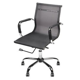 London Drugs Mesh Medium Back Office Chair - Black